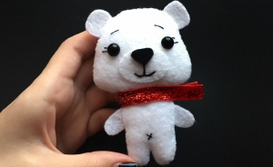 How To Sew A Felt Polar Bear Explained In 12 Simple Steps