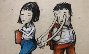 25+ Controvertidas ilustraciones creadas por el Banksy francés que te harán pensar