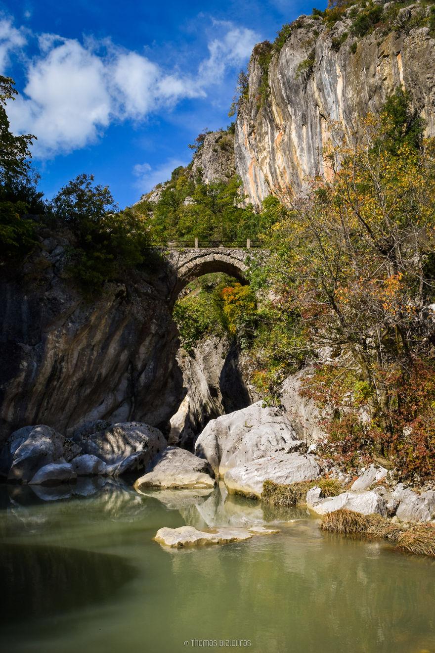 Liatissa Bridge, Grevena. Built Around 1800