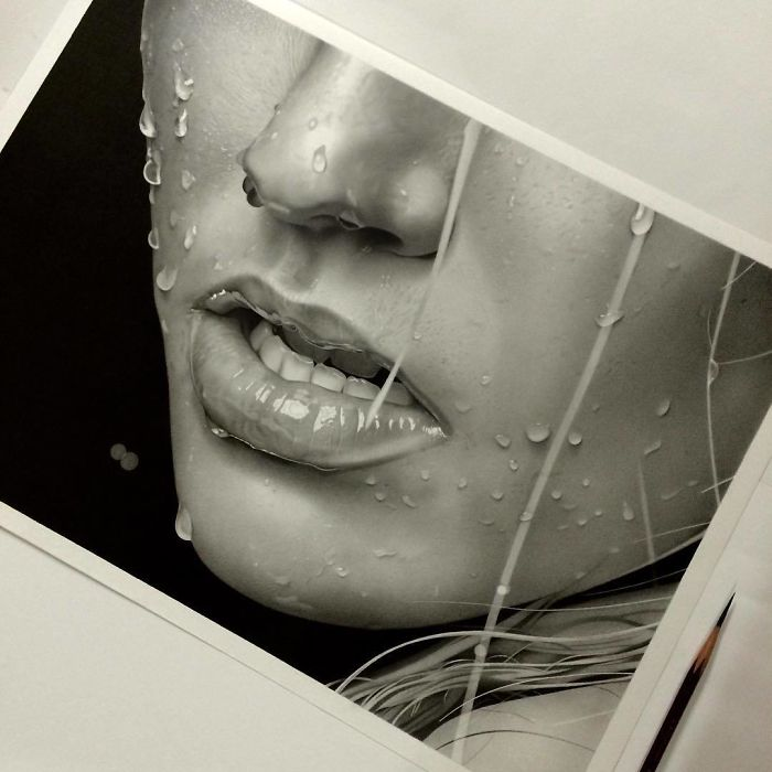 This Japanese Artist's Pencil Drawings Are So Realistic, People Can't Believe They're Not Photographs