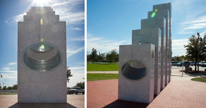 Only Once A Year At 11:11 AM The Sun Aligns Perfectly To Uncover This Memorial's Hidden Beauty