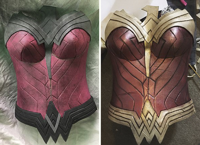 A Real Wonder Woman Spent 40 Hours Making This Costume From A Cheap Mesmerizing Wonder Woman Skirt Pattern
