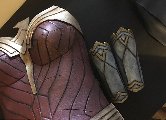 A Real Wonder Woman Spent 50 Hours Making This Costume