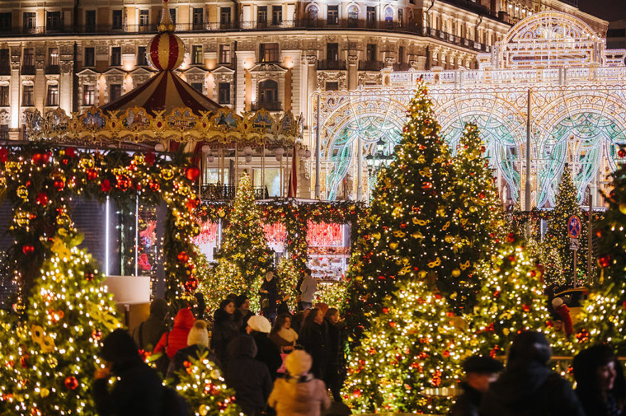 Christmas In Moscow 2017