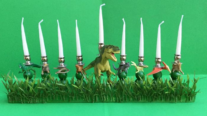 Does My Creative Menorah Count?