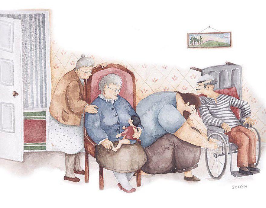Visiting A Senior Home