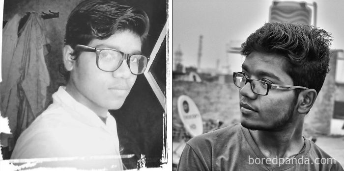 Me Neeraj Before And After