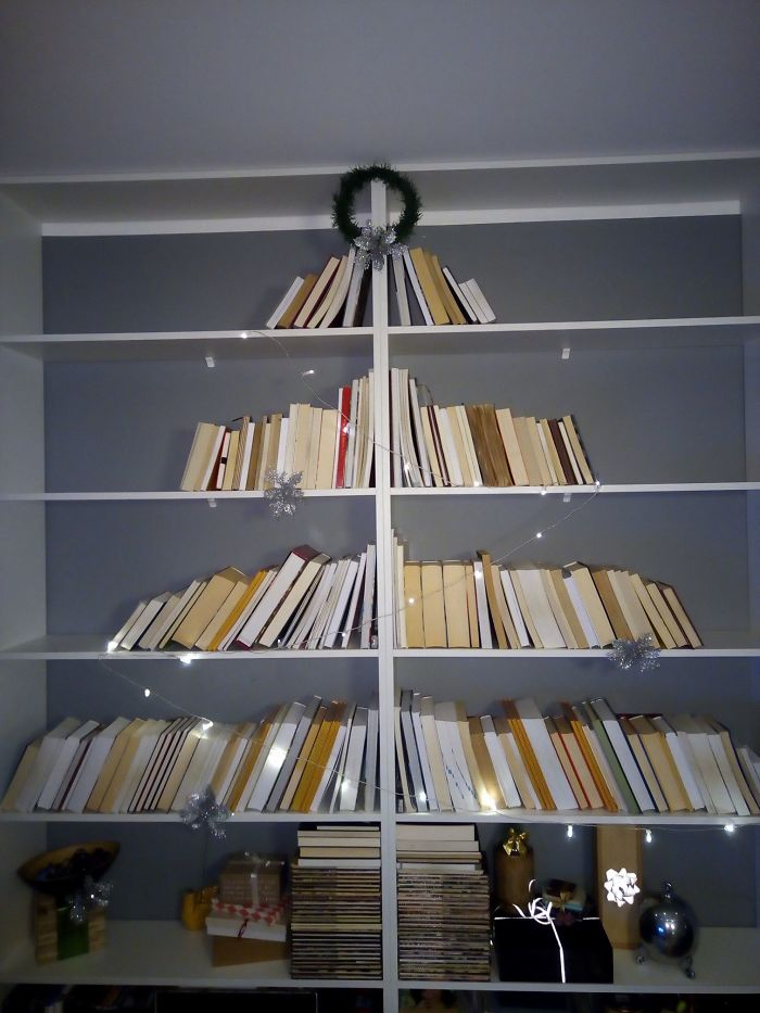Seen One On The Internet Ages Ago. Waited Several Years To Have Appropriate Bookshelf. This Year Finally Done It.