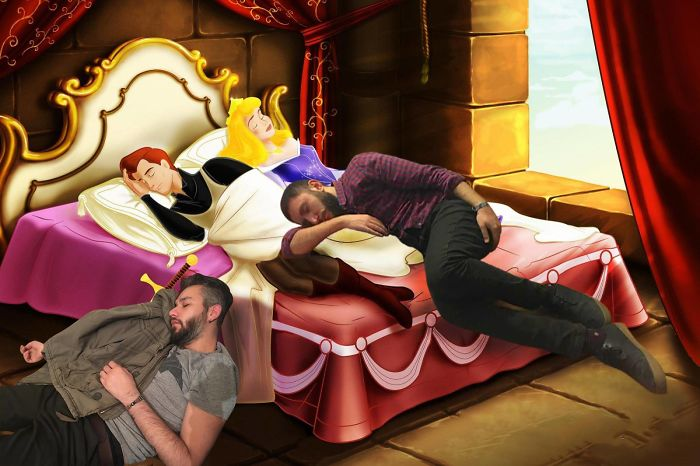 Two Guys Fell Asleep At The Creative Agency… The Rest Is The History… And Photoshop.