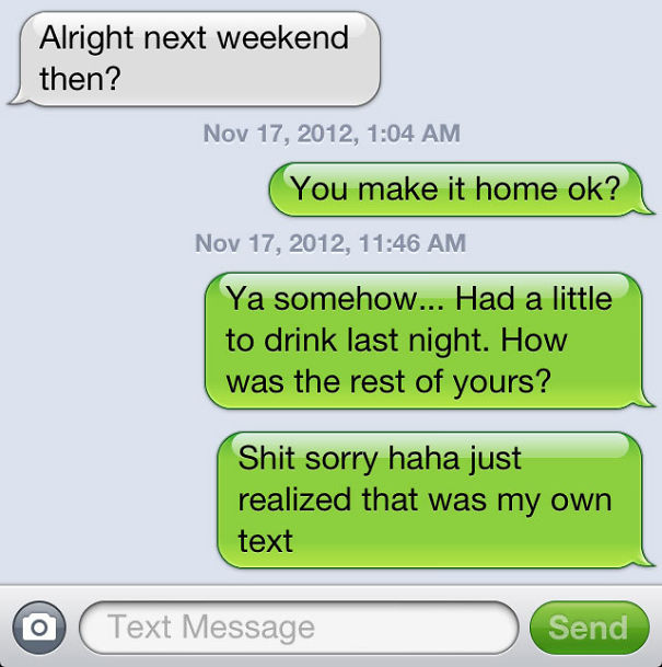Smooth Move Drunk Me...