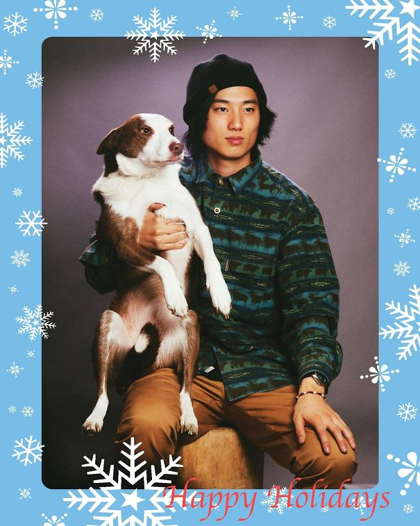 Took My Own Christmas Card Photos A Few Years Ago. This One Is Still My Favorite