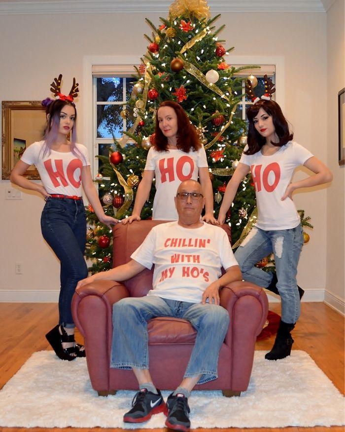 My Family's Christmas Photo
