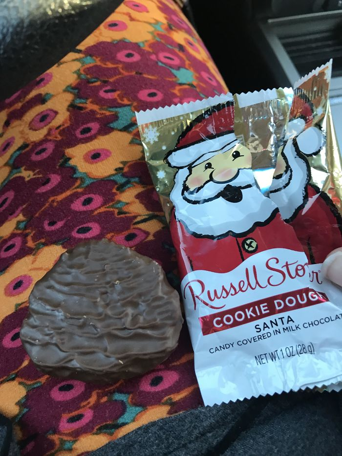 "Cookie Dough ""Santa"""