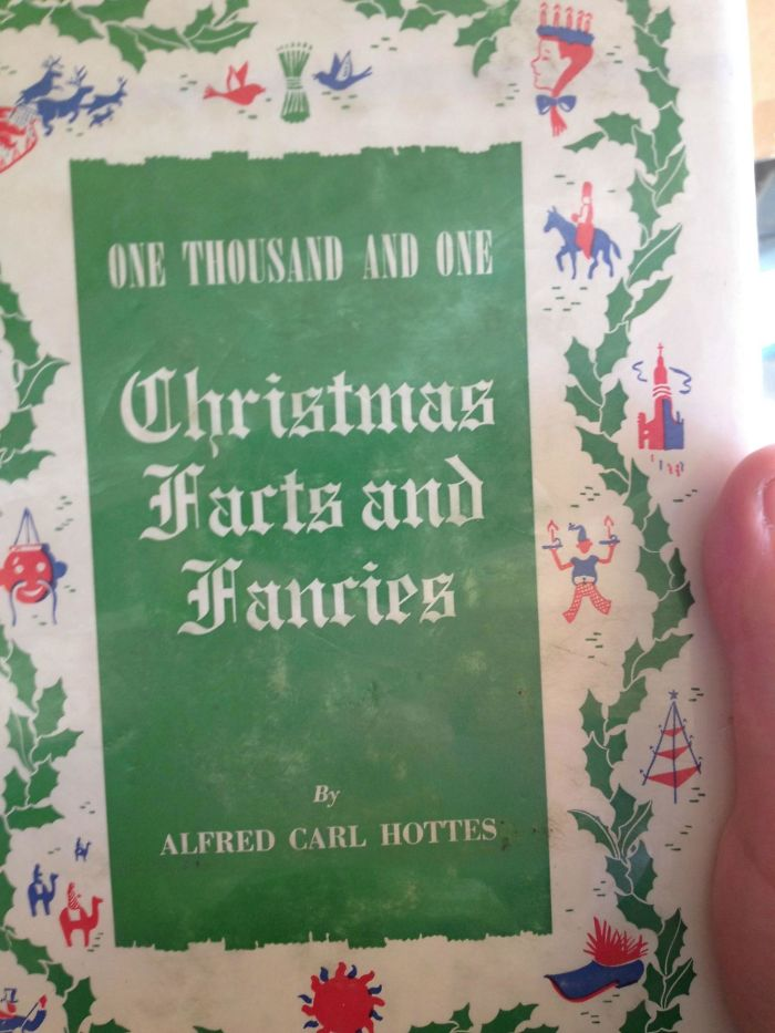 Terrible Font Choice On A Christmas Book Made Me Do A Double-Take