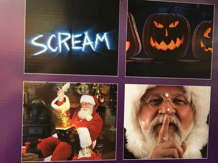 In An Attempt To Combine Halloween And Christmas, Home Depot Turned Santa Into A Sex Offender