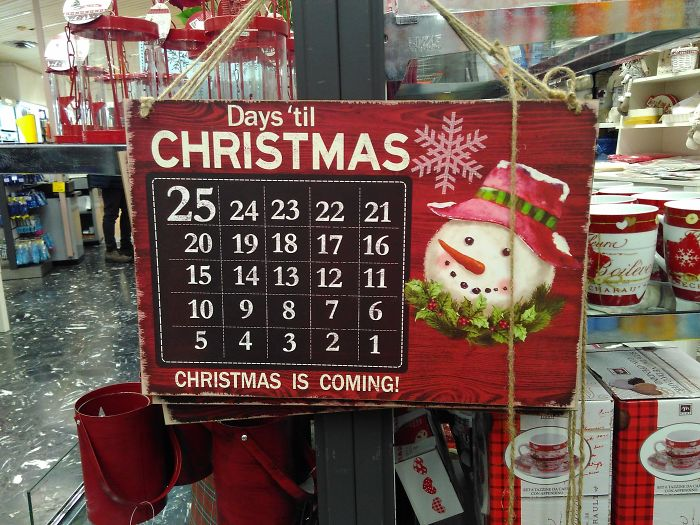 Why Is 25 The Biggest If It's The Furthest From Christmas?