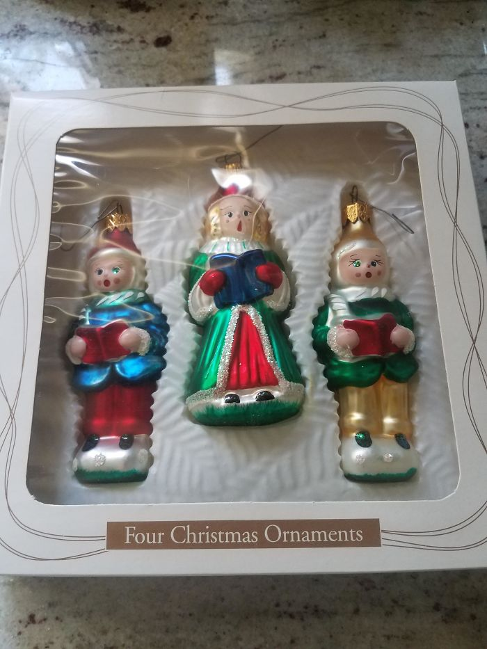These Four Ornaments