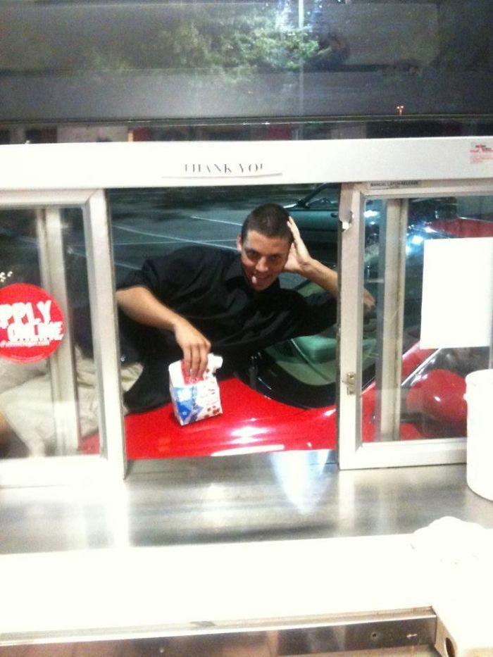I Work Third Shift At A Mcdonald's. Tonight, This Happened