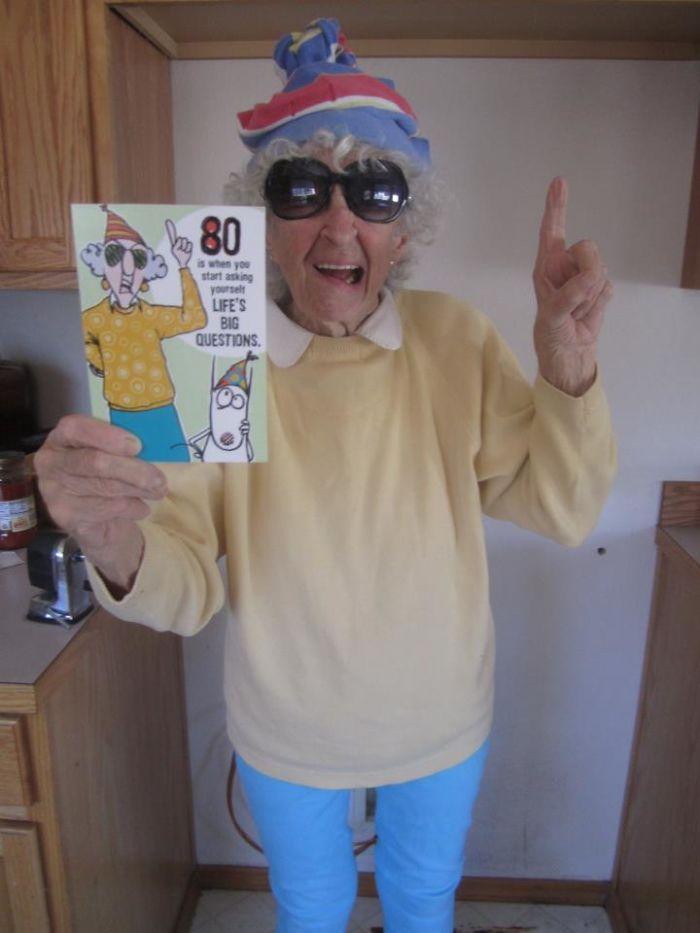 My Husband's Grandma. The Resemblance Is Uncanny