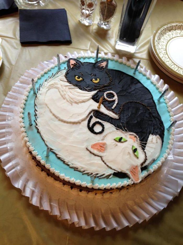 Mi abuela cumple 69 años, esta es la tarta que ha hecho