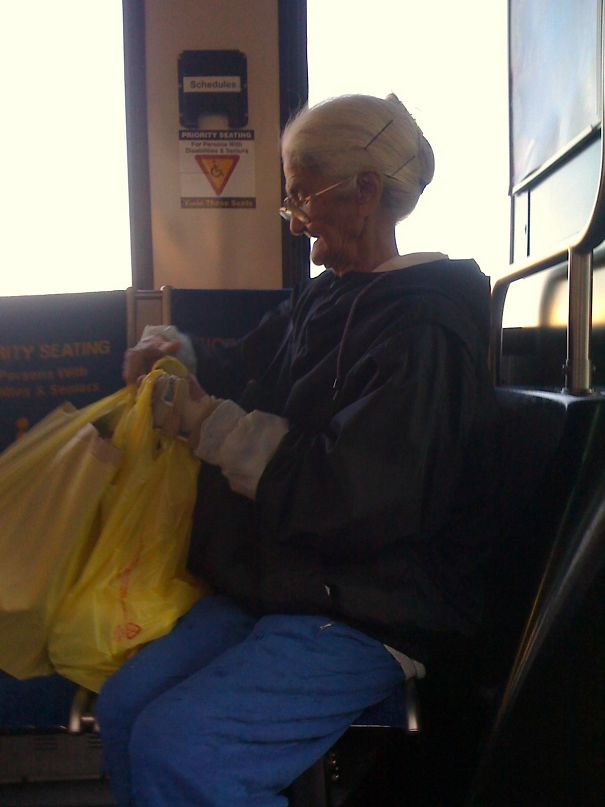 I'm Going To Hell But She Looks Like The Grandmother From Tweety, Right?