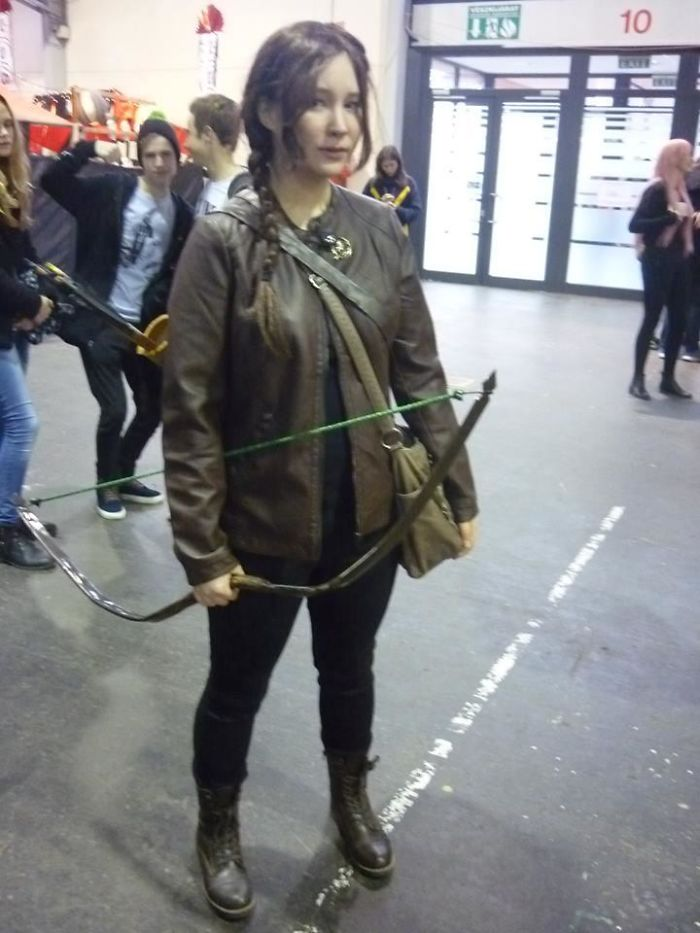 Katniss From Hunger Games Lookalike Cosplay