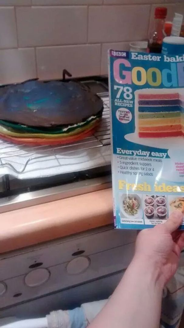 My Friend Made A Cake. Nailed It