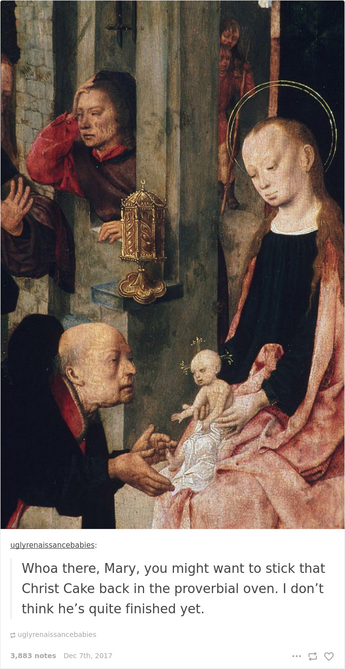 This Tumblr Dedicated To Ugly Babies In Renaissance Paintings Is The
