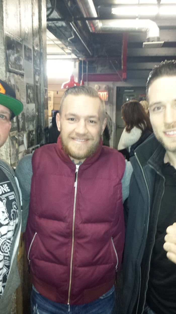 The Time I Met Conor McGregor And Asked A Stranger To Take My Pic With Him Smh
