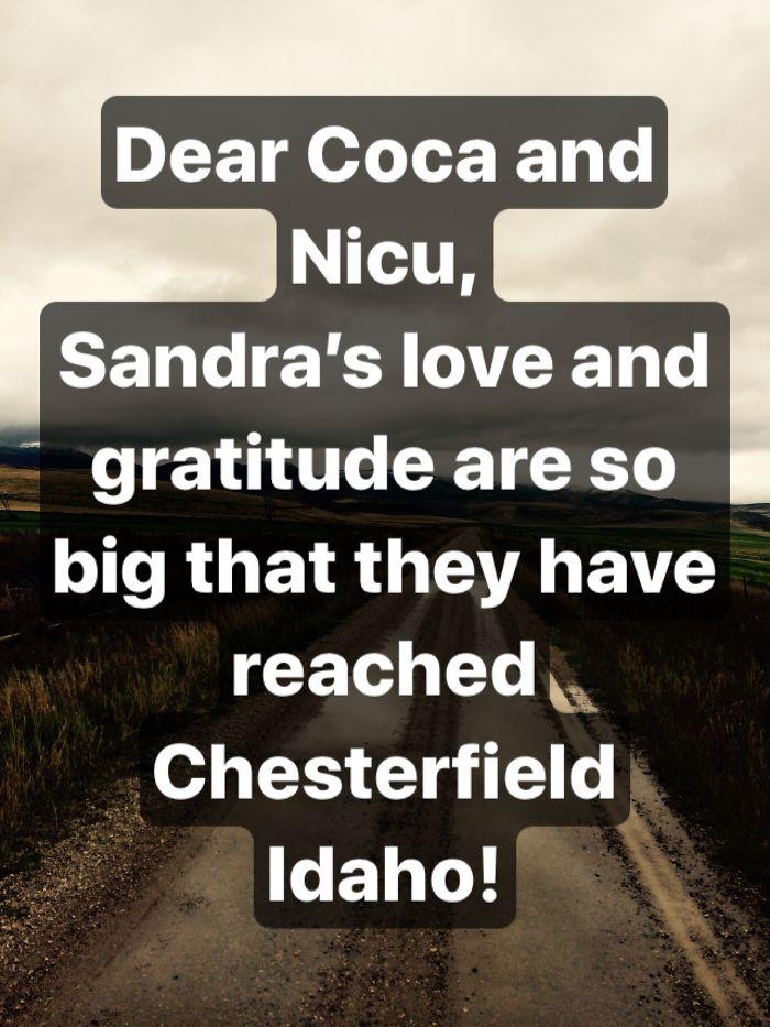Greetings From Idaho