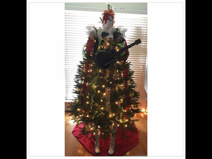 Twiggy Sawdust: My Diy Tree Last Year.