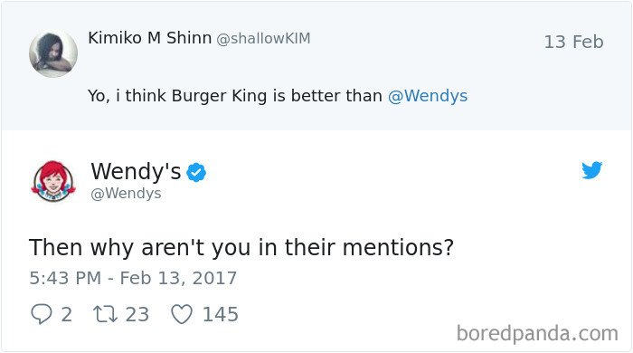 Wendy's Doesn't Care