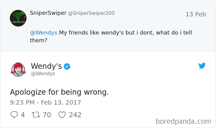 Friendship Goals By Wendy's