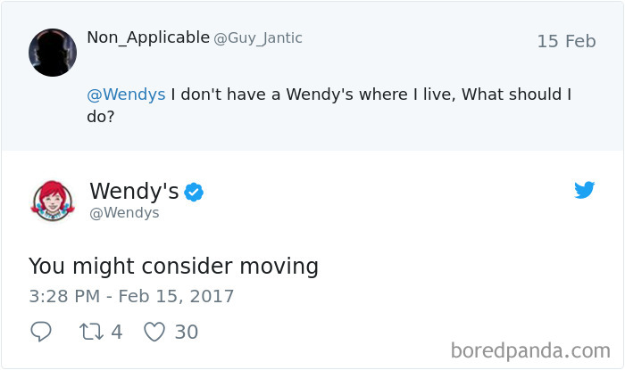 Home Is Where Wendy's Is