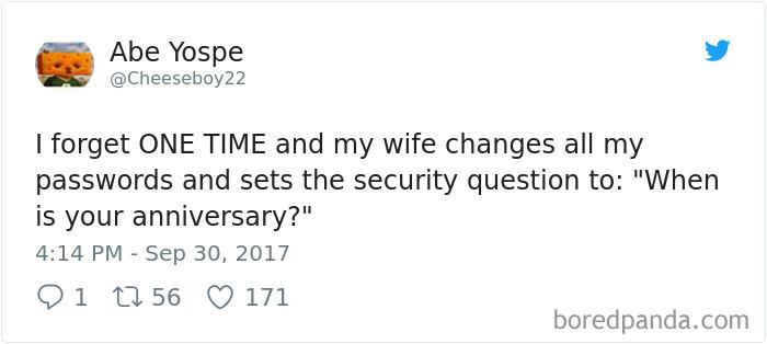 Funniest Marriage Tweets Of 2017