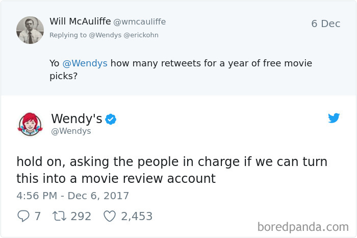 Best Wendy's Tweets