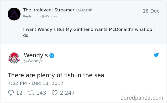 Wendy's Relationship Advice