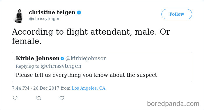 Chrissy Teigen Gets Stuck On Absolute Worst Flight Ever, Hilariously Live-Tweets Everything