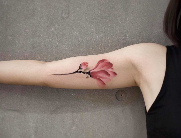 The Watercolor Tattoos Of Chen Jie Will Inspire You To Do One Immediately