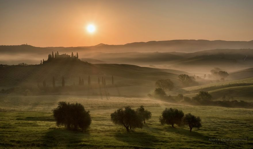 I Photographed Beauty Of Tuscany During The Sunrises And Sunsets