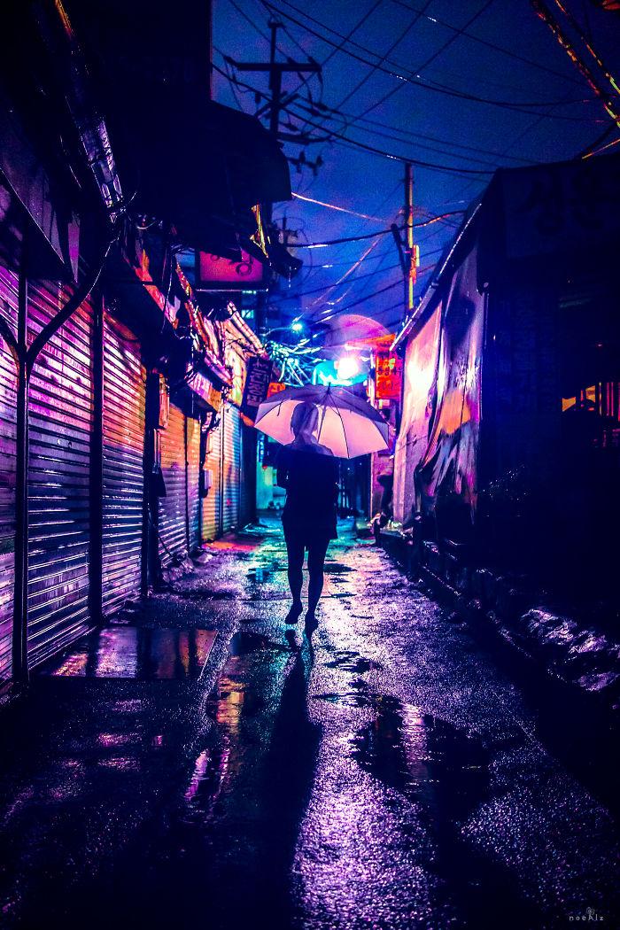 I Take Photos Of Seoul At Night