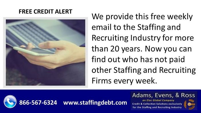 Free Credit Alert | Staffing Debt