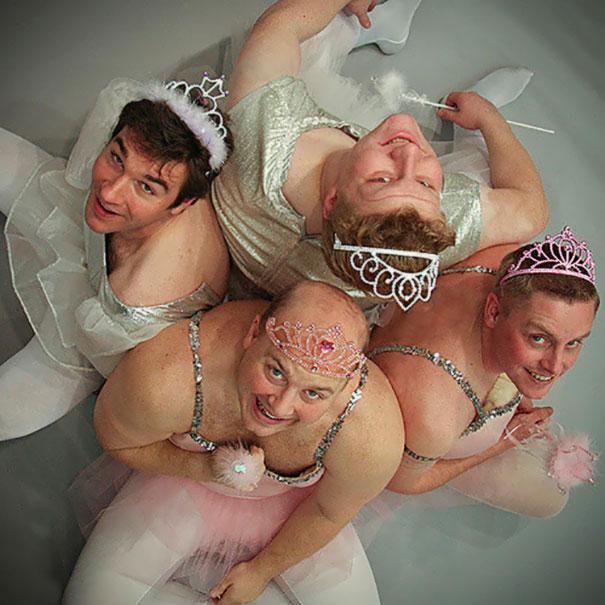 Sugar Plum Fairies Gone Wrong. Photo For My Company's Christmas Card