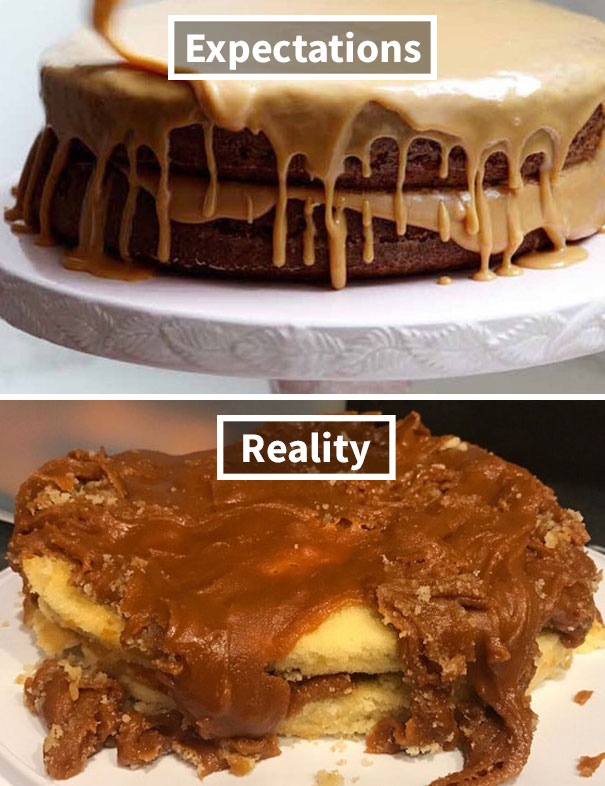Made My Wife A Caramel Cake For Her Birthday