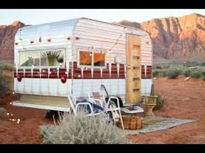 A Blogger Bought This Run Down Trailer For $1,000 And Transformed It Into A Stunning New Home