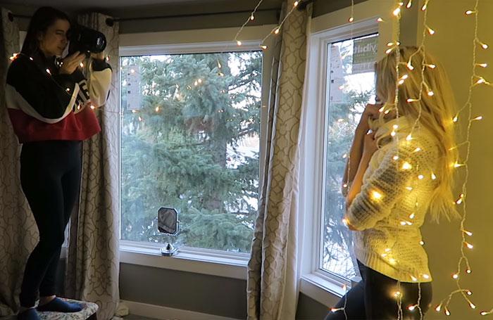 Атмосфера рождественских огней