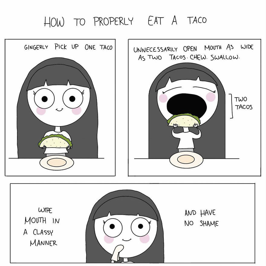 I Really Love Food And Drew Some Comics To Prove It