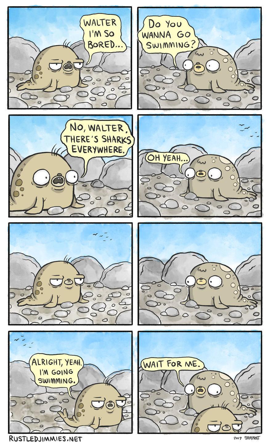 I Am The Cartoonist Behind The Webcomic Rustled Jimmies