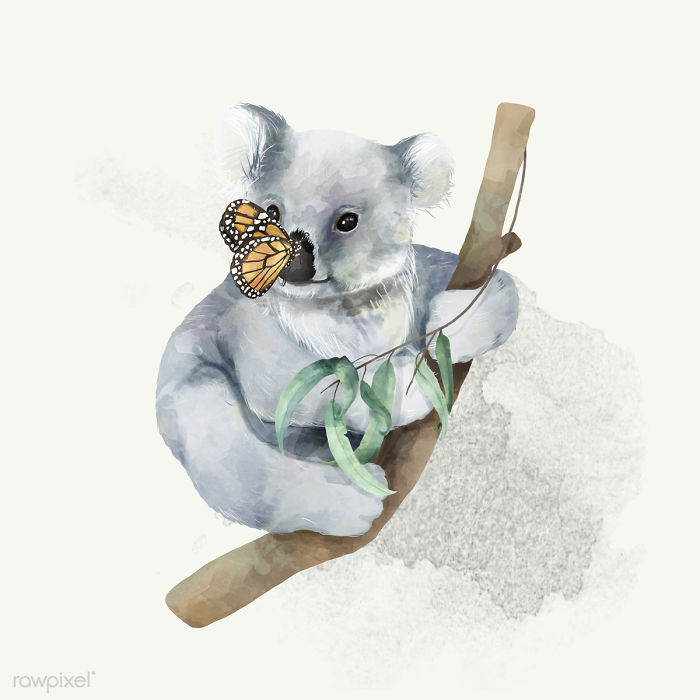 I Created Digital Drawings Of Adorable Animals And Made The Collection Free For One Week