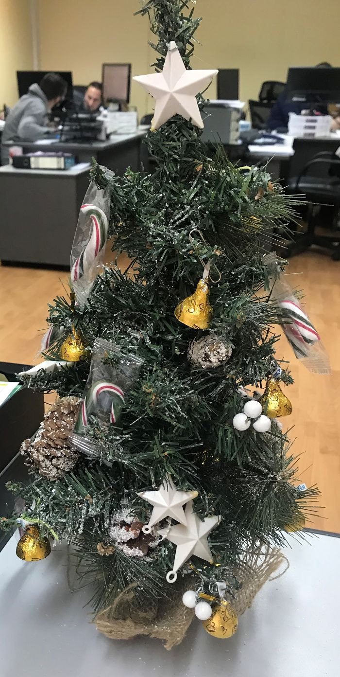That Was My Sweet Desk Christmas Tree